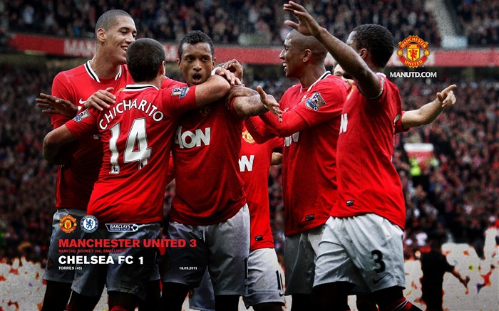 Chelsea 1 Manchester United 3-Star-Premier League matches in 2011 Views:7415