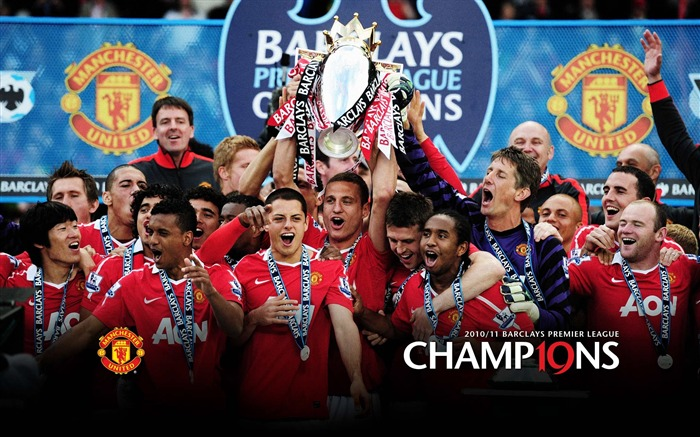 2011 Manchester United Premier League football match wallpaper Views:8742