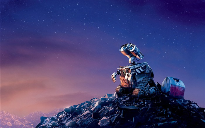 Disney movie WALL-E Wallpaper Views:19811