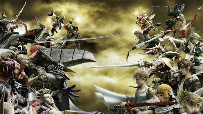 Dissidia-Classic game Final Fantasy Wallpaper Views:13280