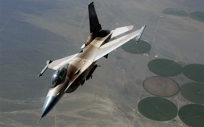 F-16 Fighting Falcon-Years of peace-military aircraft Views:5382