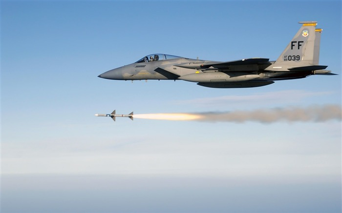 F15 Eagle Firing-Years of peace-military aircraft Views:6233