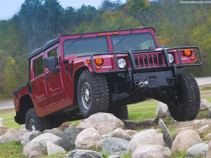 King off-road vehicles - the Hummer H1 series wallpaper 01 Views:4224