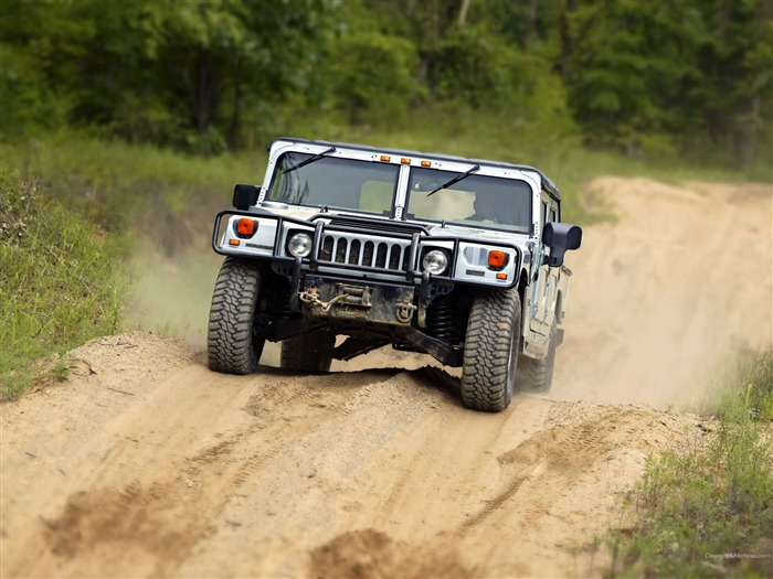King off-road vehicles - the Hummer H1 series wallpaper 04 Views:7266