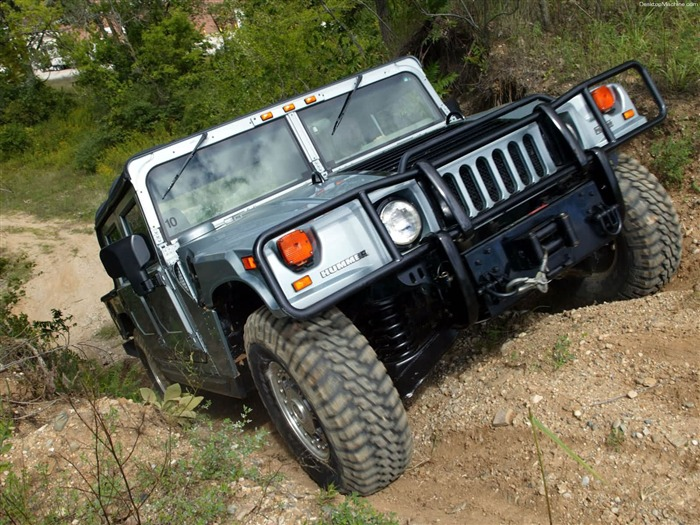 King off-road vehicles - the Hummer H1 series wallpaper 06 Views:8057