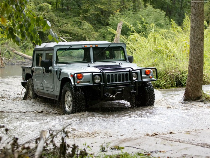 King off-road vehicles - the Hummer H1 series wallpaper 10 Views:5511