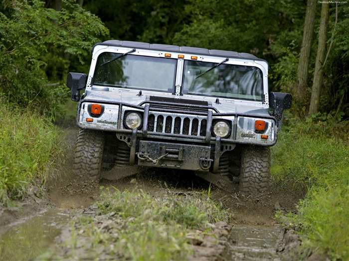 King off-road vehicles - the Hummer H1 series wallpaper 11 Views:3480