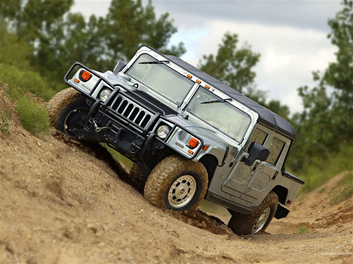 King off-road vehicles - the Hummer H1 series wallpaper 14 Views:11941