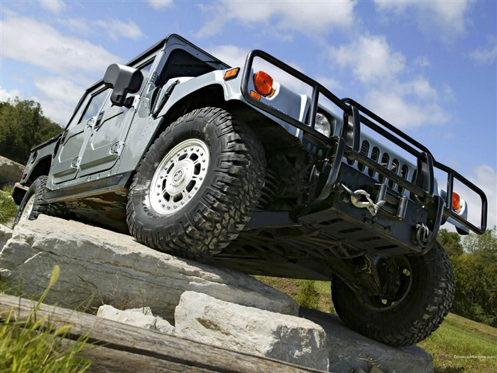 King off-road vehicles - the Hummer H1 series wallpaper Views:7442