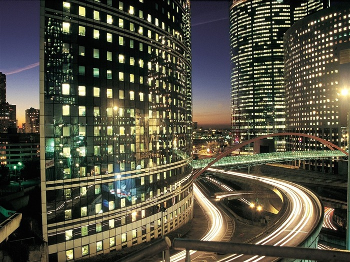 La Defense Business District Paris-Travel in the world - photography wallpaper Views:4890
