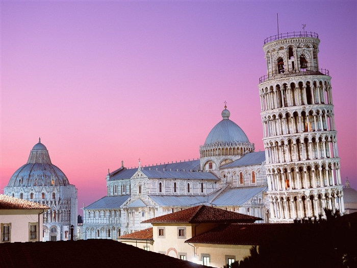 Leaning Tower of Pisa Italy-Travel in the world - photography wallpaper Views:7456