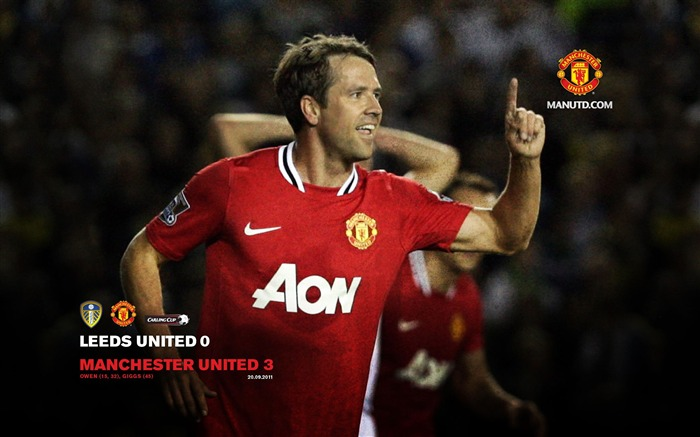 Leeds United 0 Manchester United 3-Star-Premier League matches in 2011 Views:5400