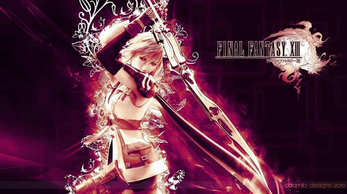 Lightning-Classic game Final Fantasy Wallpaper 02 Views:16090