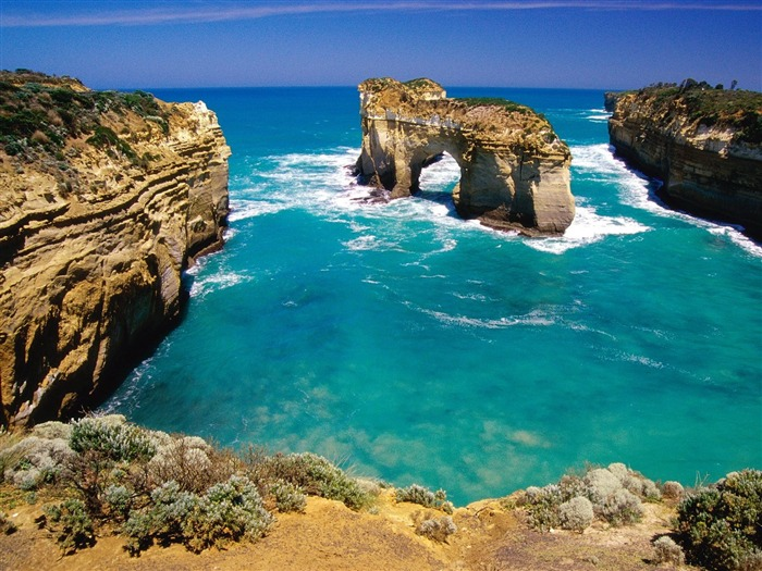 Loch Ard Gorge Australia-Travel in the world - photography wallpaper Views:8498