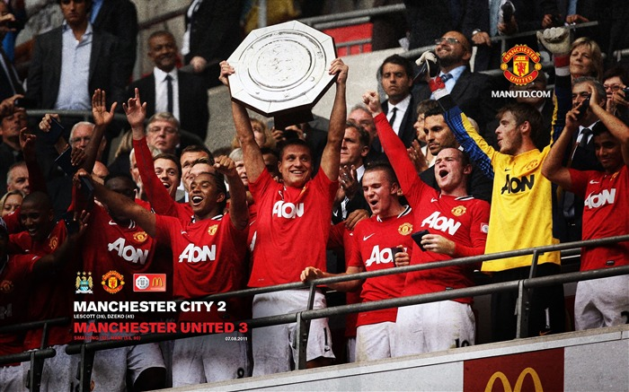 Manchester City 3-2 Community Shield-Star-Premier League matches in 2011 Views:4284