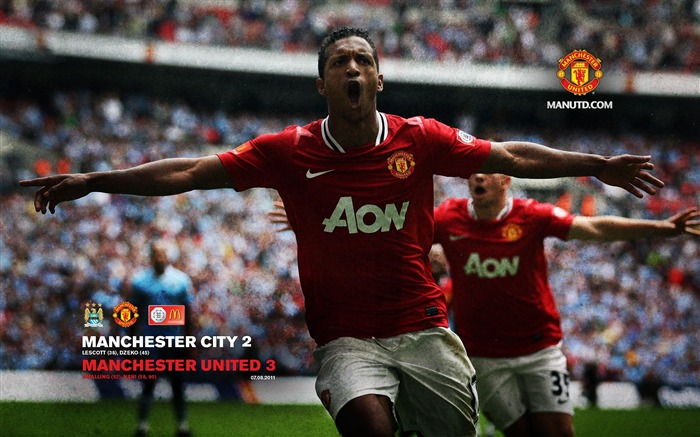 Manchester City 3-2 Community Shield -Star-Premier League matches in 2011 Views:3568