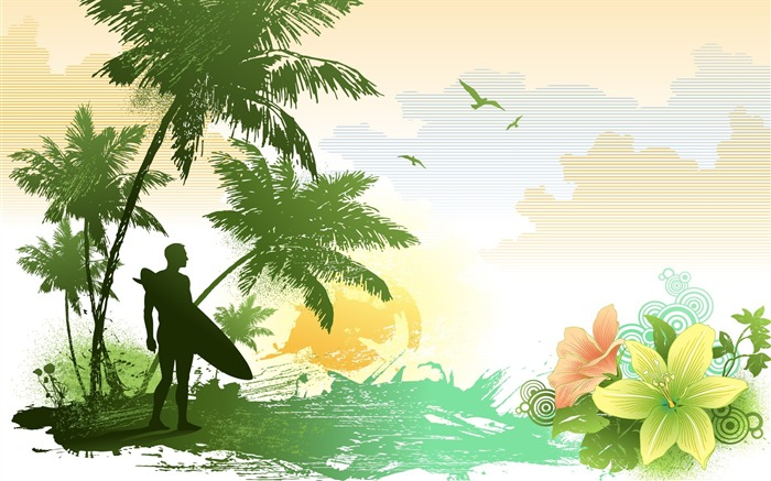 Nature-Illustration Design Desktop Wallpaper Views:6044