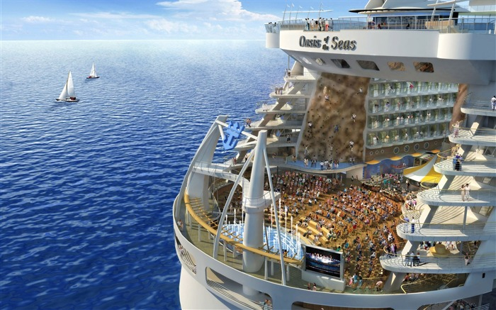 Oasis of the seas Royal Caribbean-Travel in the world - photography wallpaper Views:4902