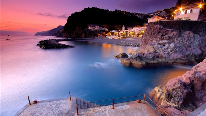 Offshore Town-Travel in the world - photography wallpaper Views:3449