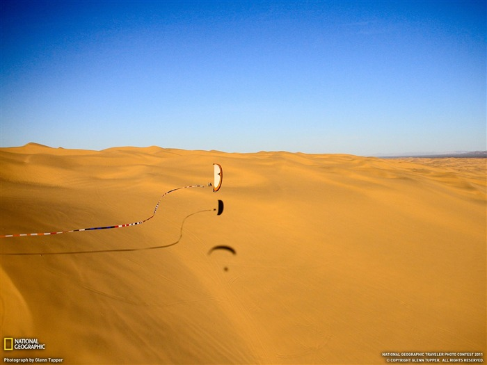 Paraglider Glamis Dunes-National Geographic magazine photography Views:5319