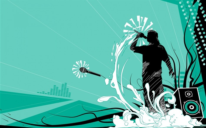 Vector Party Man-Illustration Design Desktop Wallpaper Views:2578