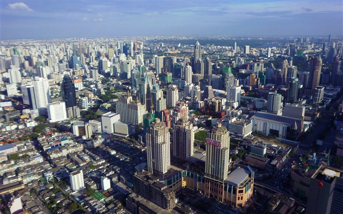 bangkok from above-Architecture Decoration landscape wallpaper Views:8629