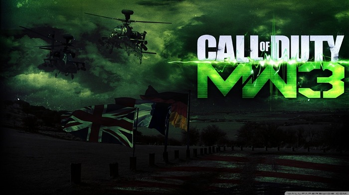 call of duty modern warfare 3 HD Game wallpaper Views:16188