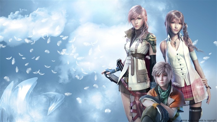 final fantasy XIII-Classic game Final Fantasy Wallpaper 01 Views:14914