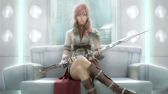 final fantasy XIII-Classic game Final Fantasy Wallpaper 02 Views:5576