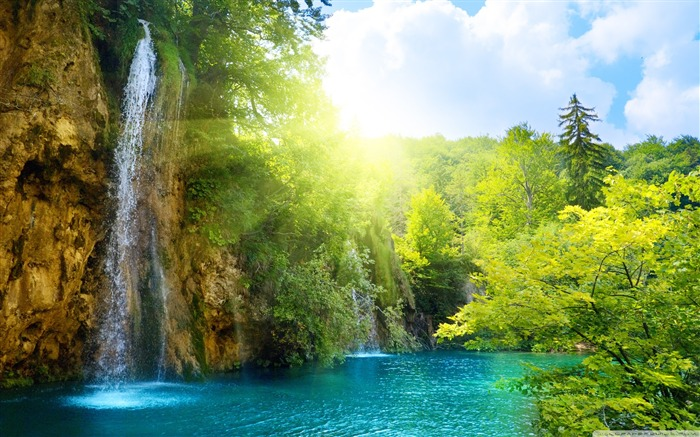 World most famous waterfall landscape wallpaper Views:29702