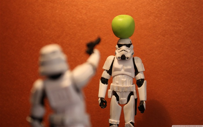 funny Imperial Stormtrooper series desktop wallpaper Views:21505
