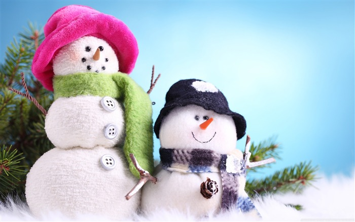 funny snowman-Christmas items - jewelry Desktop Wallpaper Views:31898