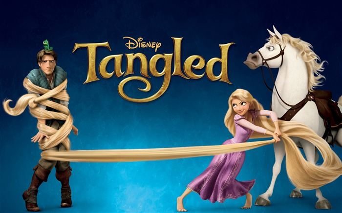 Disney film-Tangled 2010 animated wallpaper Views:13566