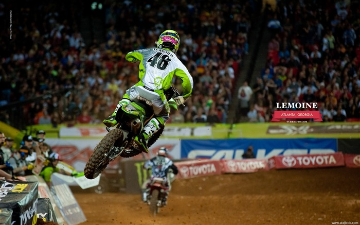 AMA Supercross Atlanta Station-riders Lance Vincent Views:5916