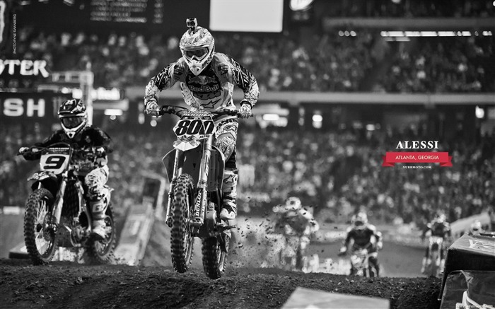 AMA Supercross Atlanta Station-riders Mike Alessi Views:6098
