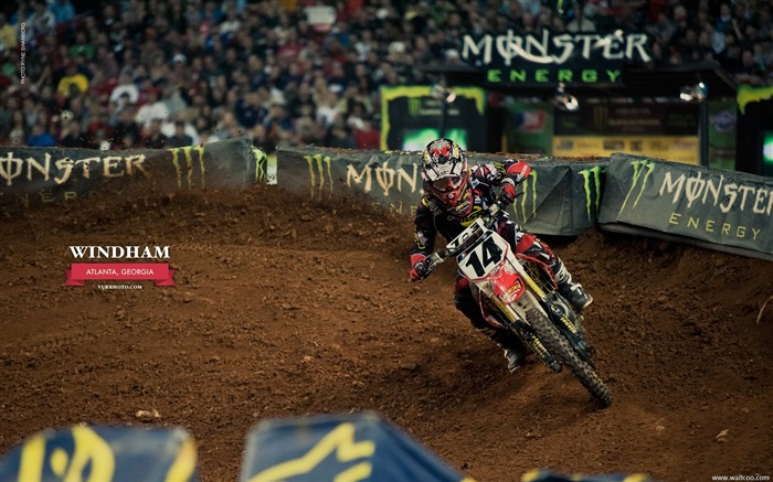 AMA Supercross Atlanta Station - riders Kevin Windham Views:5792
