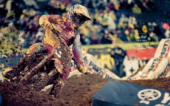 AMA Supercross San Diego-drivers Cole Seely Views:6406