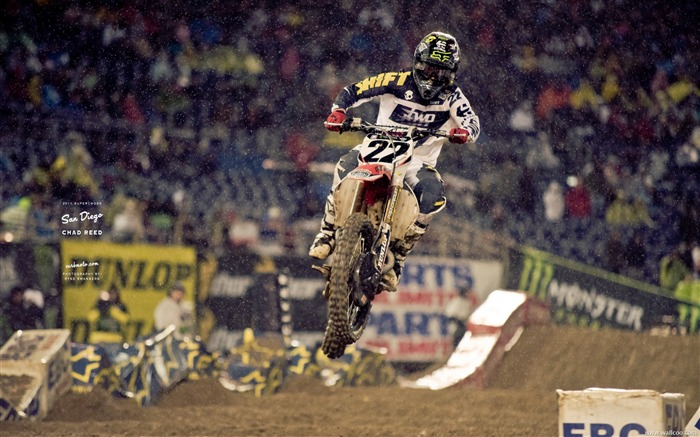 AMA Supercross San Diego-rider Chad Reed Views:7002
