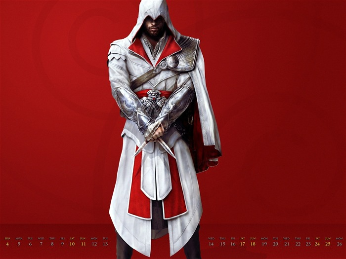 Assassin Creed-December 2011-Calendar Desktop Wallpaper Views:4793