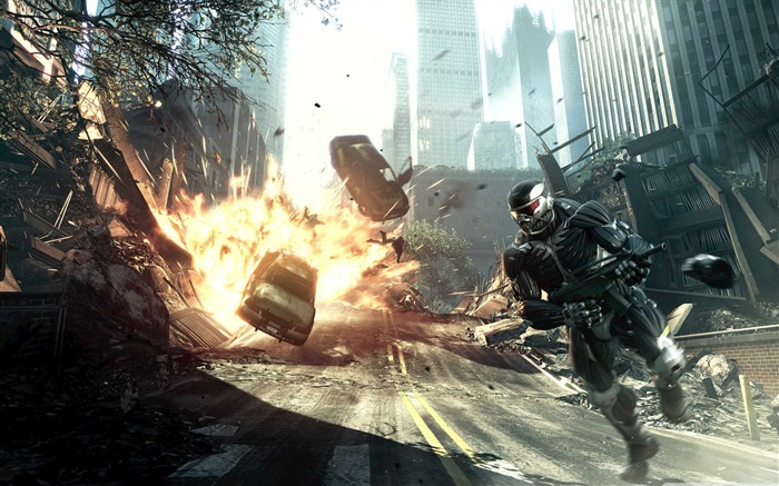 Crysis HD Game Desktop wallpaper 07 Views:4742