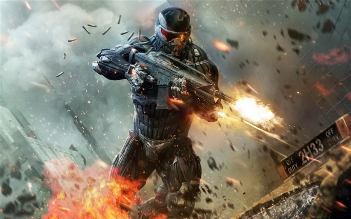 Crysis HD Game Desktop wallpaper Views:7404