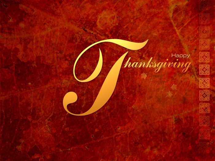 Happy-Thanksgiving day wallpaper illustration design Views:6239