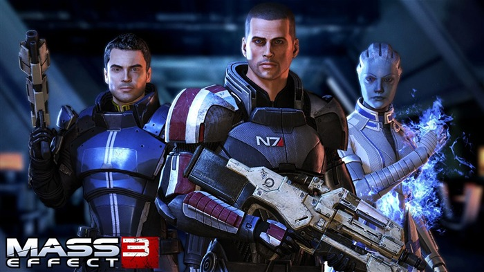 Mass Effect 3  Game HD Desktop Wallpaper Views:8273