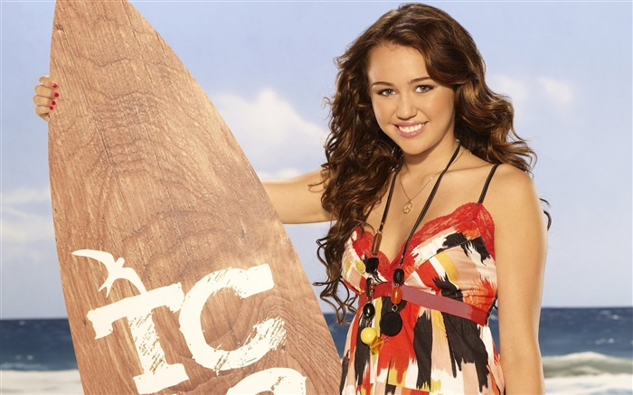 Miley Cyrus-European and American actress wallpaper album 01 Views:7235