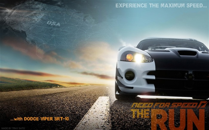 Need for Speed-The Run Game HD Wallpaper 01 Views:16549
