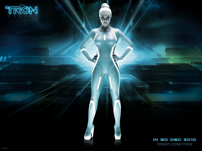 Siren in Tron Legacy-European and American actress wallpaper album 02 Views:9106