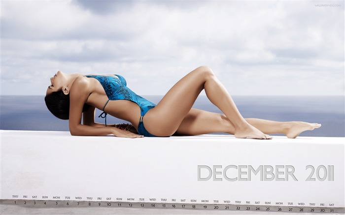 Tal Berkovich-December 2011-Calendar Desktop Wallpaper Views:4020
