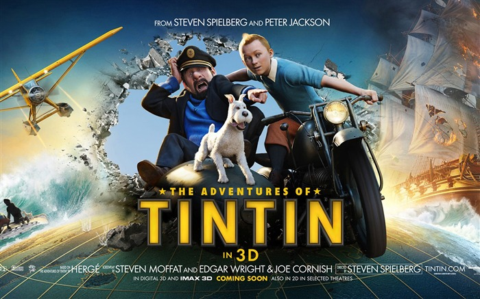 The Adventures of Tintin-3D Movie Wallpaper Views:8855