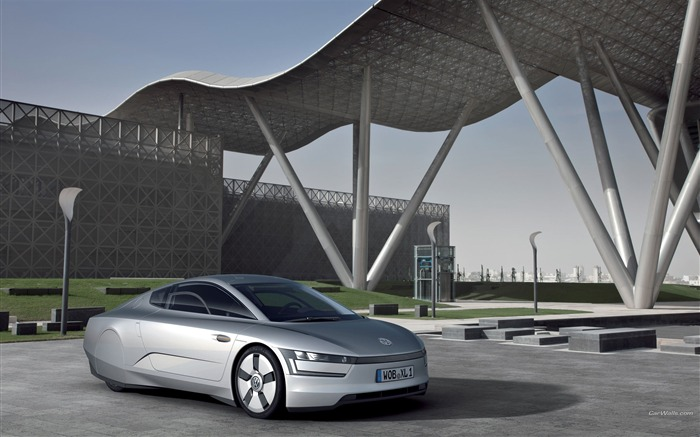 Volkswagen XL1 Concept car desktop picture 02 Views:3518