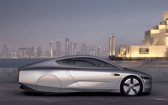 Volkswagen XL1 Concept car desktop picture 04 Views:3661